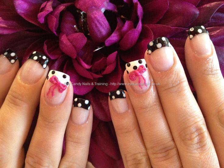 valentine's day 3d nail art