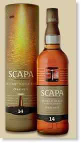 One of my fave Scapa single malt scotch