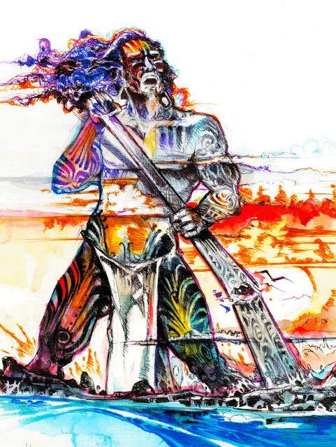 Chile sus mitos y leyendas: Leyenda de Uoke el desvastador