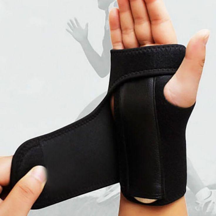 Nouveau Bandage Orthopédique Attelle À La Main Support de Poignet Doigt Attelle Le Syndrome Du Canal Carpien