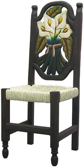 мексиканская расписная мебель