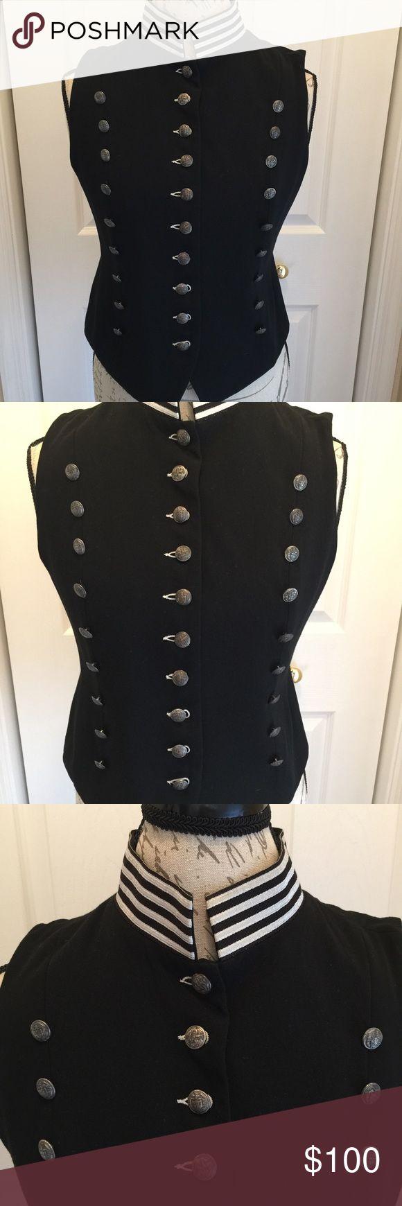 Karen Kane Miltary Vest Vest Karen Kane Jackets & Coats Vests