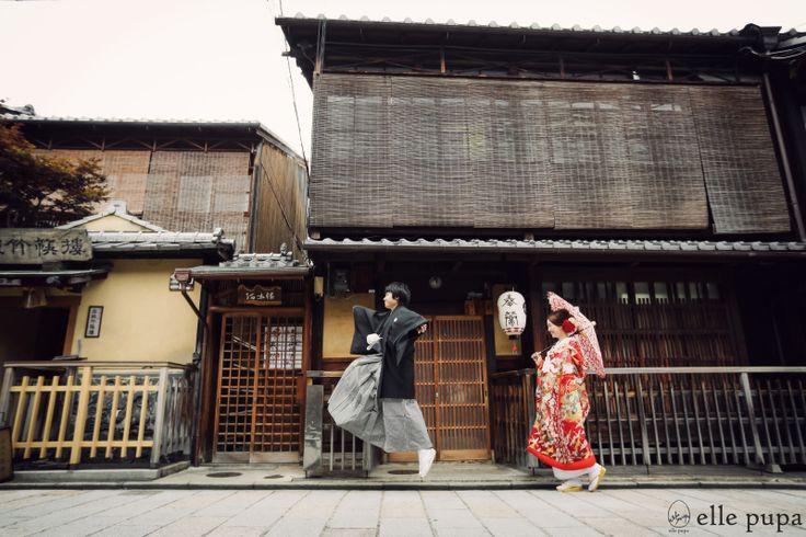 京都らしく*ほっこり前撮り |*ウェディングフォト elle pupa blog*|Ameba (アメーバ)