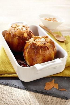 Pommes au four et crêpes dentelles  Que je suis gourmande !