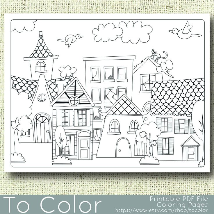 371 Best Houses Illustrations Exteriors Black And White