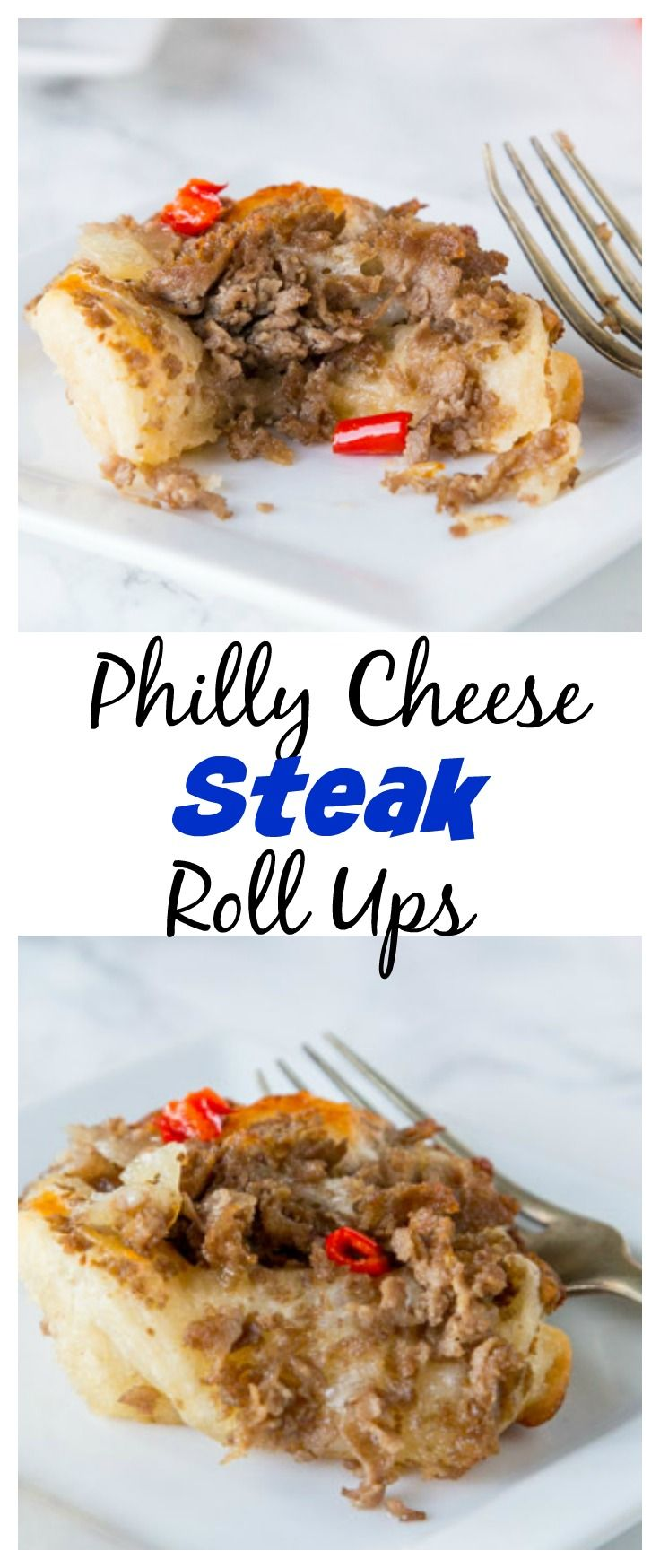 Philly Cheese Steak Roll Ups