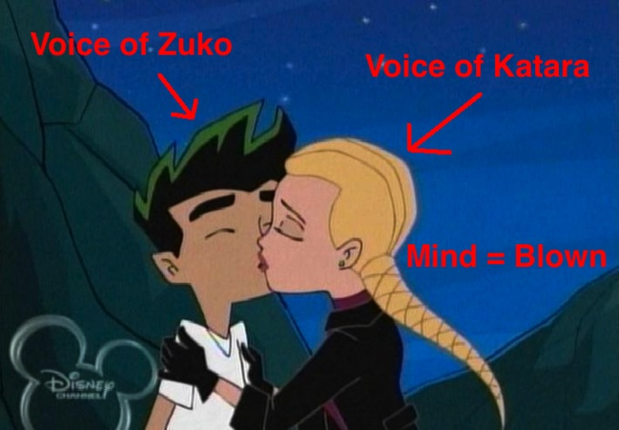 The American Dragon. No way... I knew Dante Basco voiced Jake but... So does this mean for a portion of my life I shipped Zutara???? NOOOOOOOOOOOO!!!!!!!!!