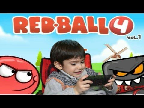 ألعاب أطفال - لعبة الكرة الحمراء playing red ball 4 game