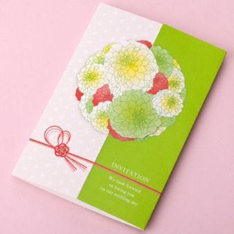 bless(ブレス):★サンプルプレゼント★まずは資料請求を!HANAMARI招待状