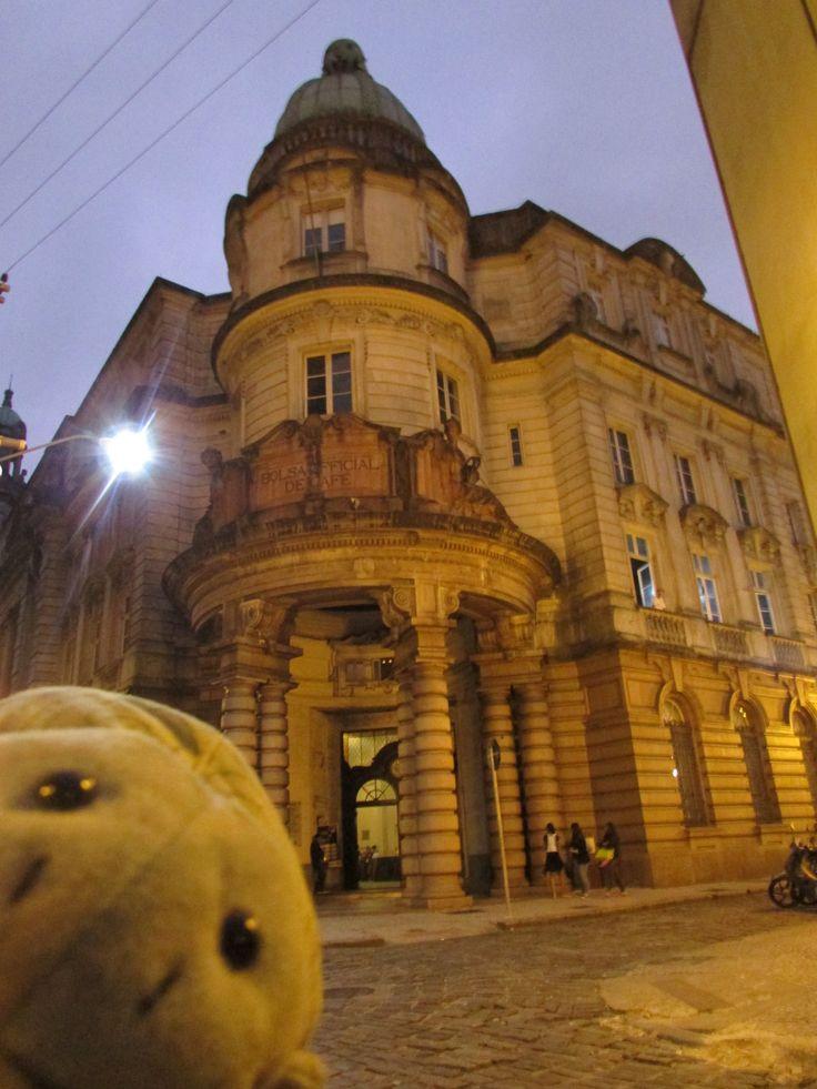 Museu do Café - Edifício da Bolsa Oficial de Café em Santos, SP