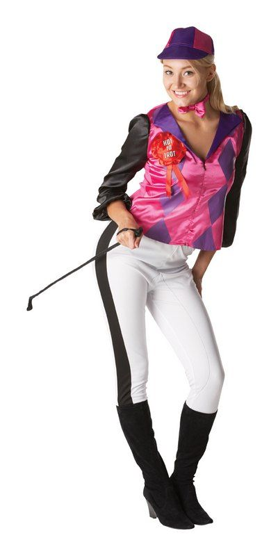 Ladies Jockey Costume will transform you into a professional horse rider. Shop…