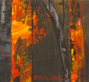 The Bushfire (series) - Burning Gums - Patrick Carroll