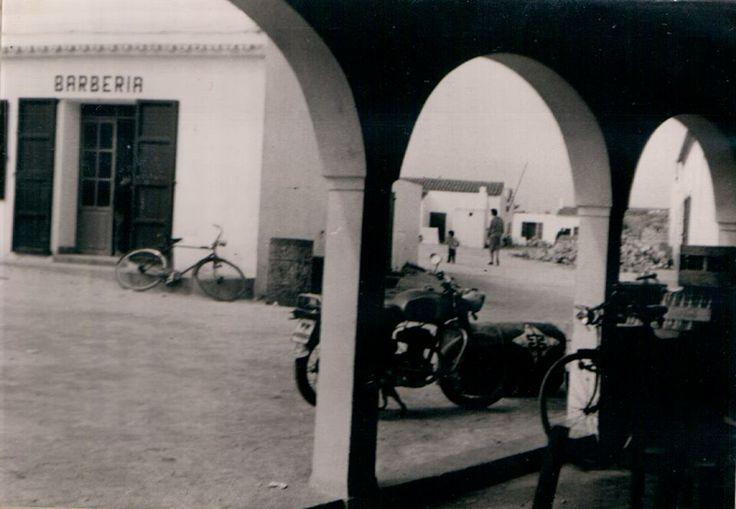 La Barberia de sant Ferran vista desde la Fonda Pepe