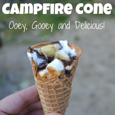 Campfire Cones (goes on coals)