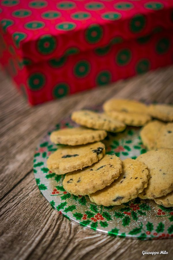 Biscotti di natale limone e mirtilli #ricetta #natale