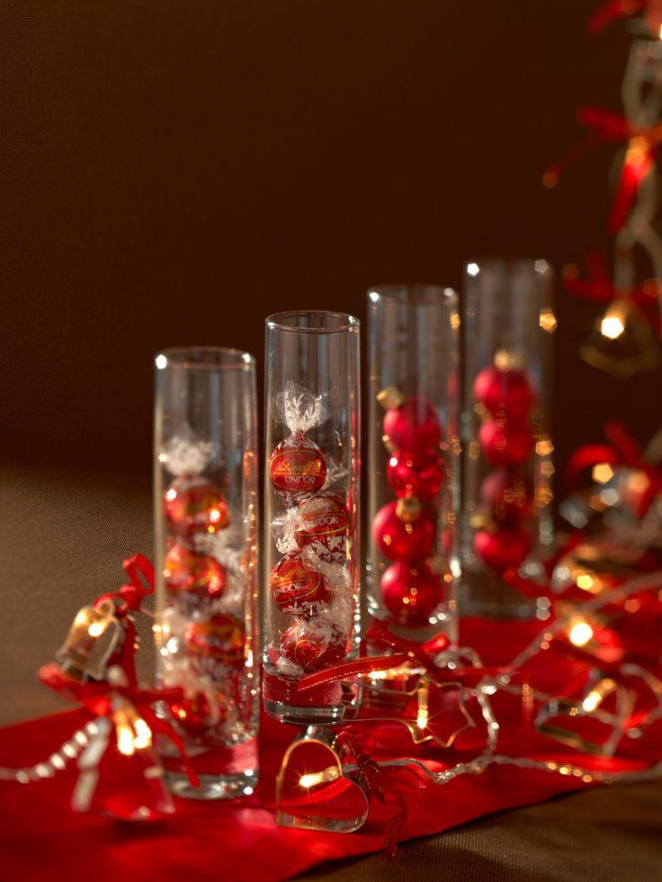Les 16 meilleures images du tableau calendrier de l 39 avent - Como decorar centros de mesa para navidad ...