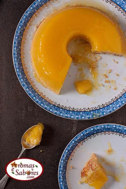 Foto: Quem curte um quindim amarelinho e macio? A receita está no…