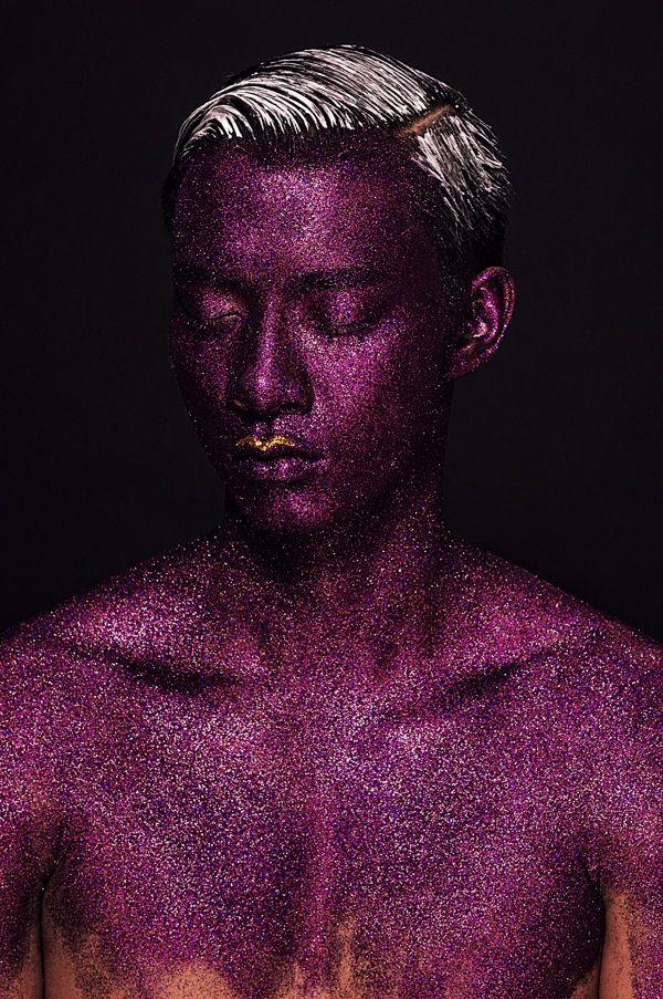 Male models on Behance | Photo. Lan Tran | Model. Manh Hiep | Makeup. Ruan Dang