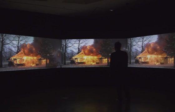 Juxtapoz Magazine - video and photos: Ian Strange 'SUBURBAN' Exhibition