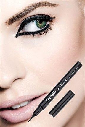 Kadın Maybelline Siyah Eyeliner - Master Precise Eyeliner Black || Siyah Eyeliner - Master Precise Eyeliner Black Maybelline Unisex                        http://www.1001stil.com/urun/3452212/maybelline-siyah-eyeliner-master-precise-eyeliner-black.html?utm_campaign=Trendyol&utm_source=pinterest
