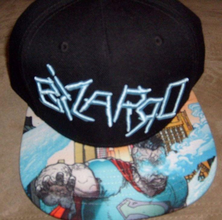 DC COMIC BIZARRO FOREVER EVIL FLAT BILL SNAPBACK HAT CAP NEW SPENCERS #SPENCERS #BaseballCap