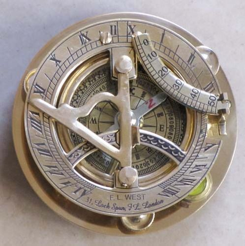 Nautical Sundial Compass.