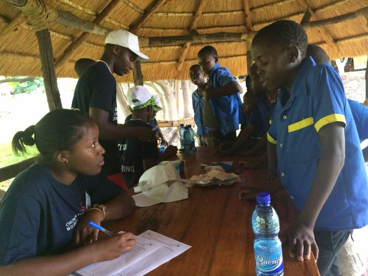 Annual Eco-Club Camp at Mvuu Camp in Malawi is off to a great start – Children in the Wilderness