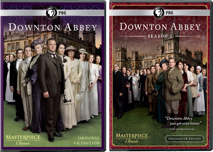 Simply June: Downton Abbey Season 1 & 2