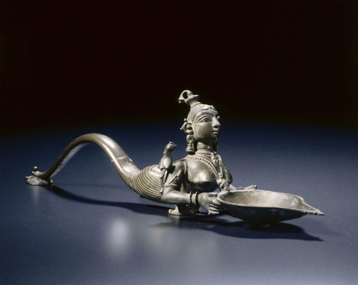 Votive Lamp (Deepa Lakshmi), 1700s-1800s South India, Chingleput district (Madras), 18th-19th Century