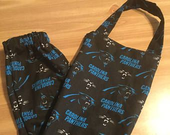 Caroline Panthers Grocery Bag Holder/Plastic Bag Dispenser