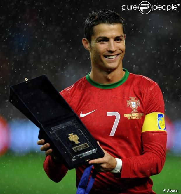 Cristiano Ronaldo CR7. The most interesting player in the world. Former world player of the year, finished 2nd to Messi 3 of the last 4 years.