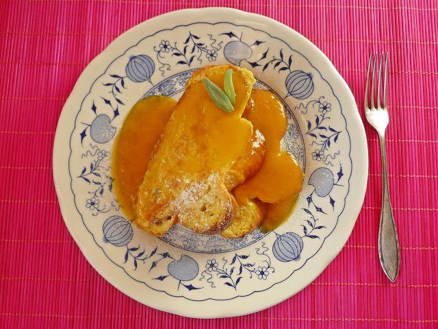 La petite casserole: Francúzsky toast s pomarančovou omáčkou