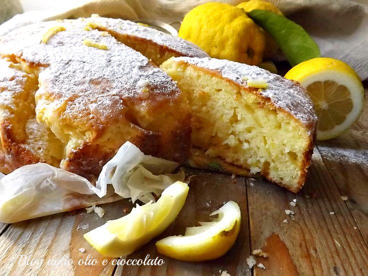 torta al limone con le bucce