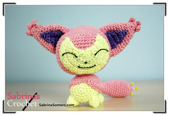 手机壳定制buy mobile phone online Skitty  Pokemon  Free Crochet Pattern  Amigurumi