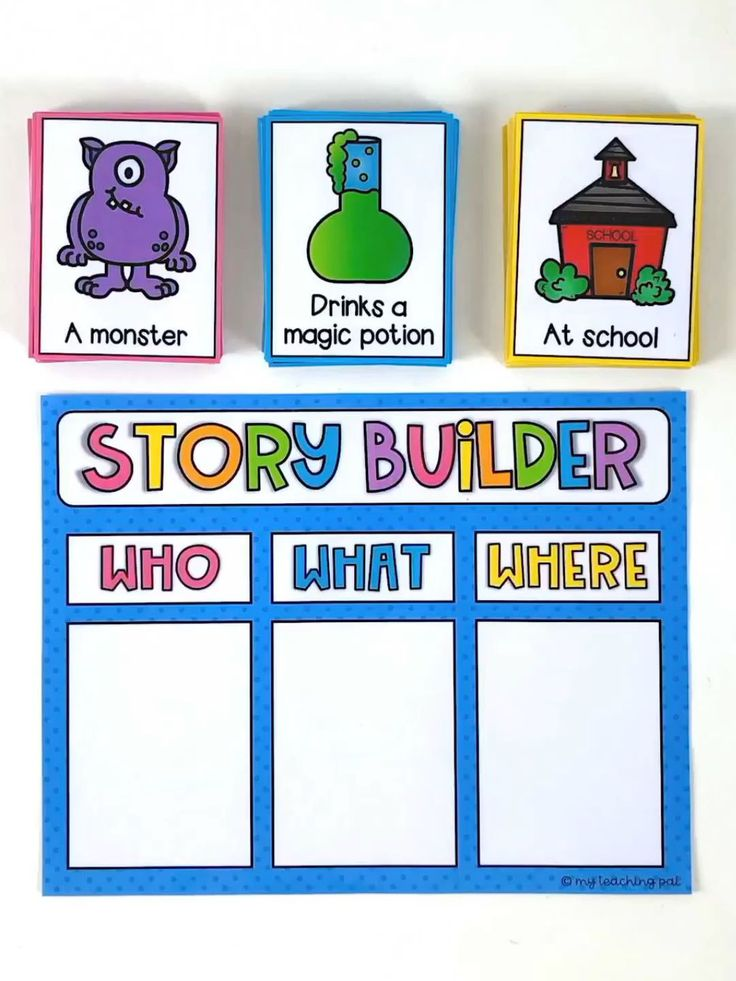 Story Builder Writing Center Your students will lo…