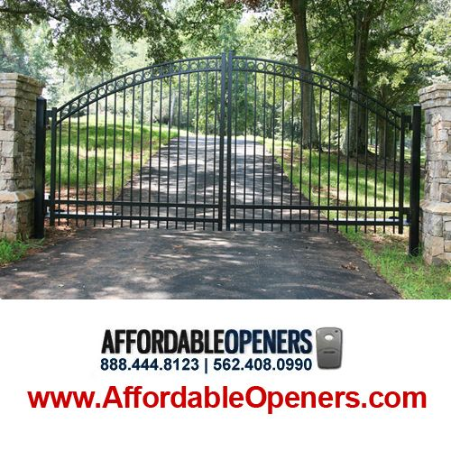 Steel Gates And Fences For Driveways - Fences Commercial & Industrial - Long Beach, CA