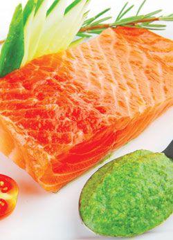 Copper River Salmon And Avocado Pesto Copper River Salmon Recipes