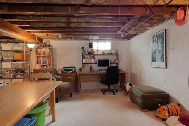 unfinished basement walls unfinished basement decorating basement