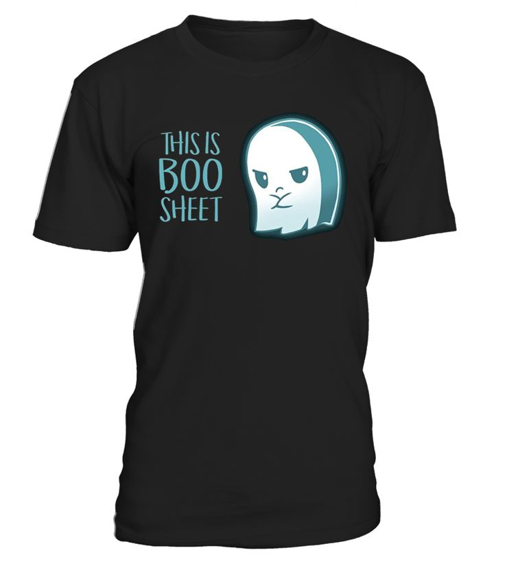 CHECK OUT OTHER AWESOME DESIGNS HERE!                 This is Boo Sheet Halloween Ghost Shirt, Funny Novelty Tee   Watch out for ghouls, ghosts, goblins, and other scary monsters this Halloween! Show your frustration for Halloween with this funny This Is Boo Sheet tee! This simple last resort costume makes a funny gag for a Halloween party.