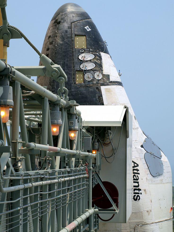 STS-135 Space Shuttle Atlantis Up-Close