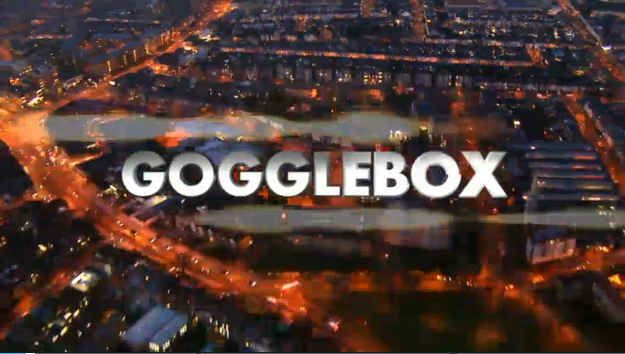 So there's this show called Gogglebox. I adore it. It should be on every week forever & ever.