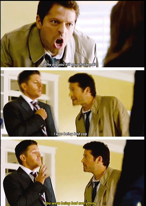 I love Cas!  -- I had to rewind this part like 10 times.