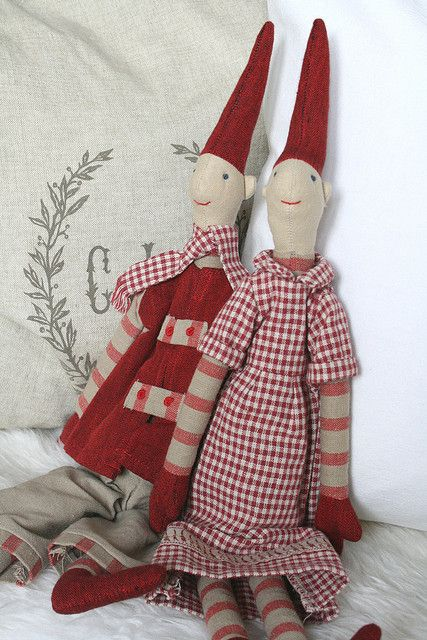 Christmas Magic: Danish Pixies   Bald ist Nikolausabend da   Flickr via Nadine - herz-allerliebst