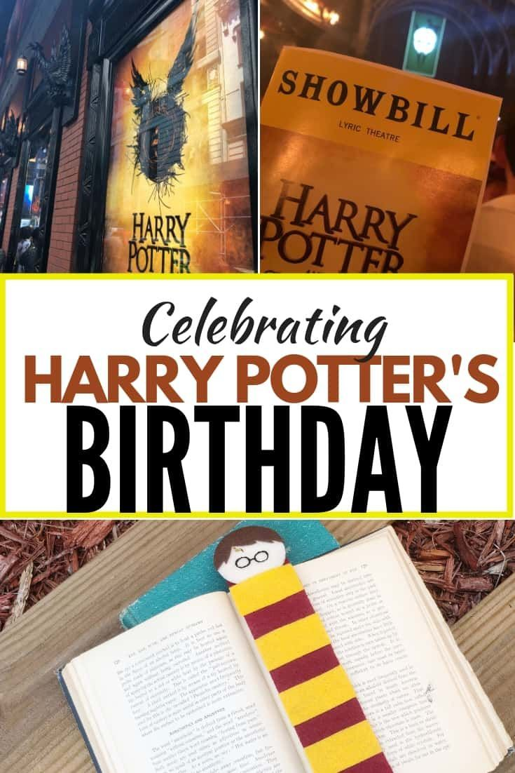 Celebrating Harry Potters Birthday With This Fun Harry Potter Craft Idea Perfect For A Party Craft Harry Potter Crafts Harry Potter Birthday Fun Summer Crafts