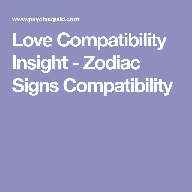 Love Compatibility Insight - Zodiac Signs Compatibility