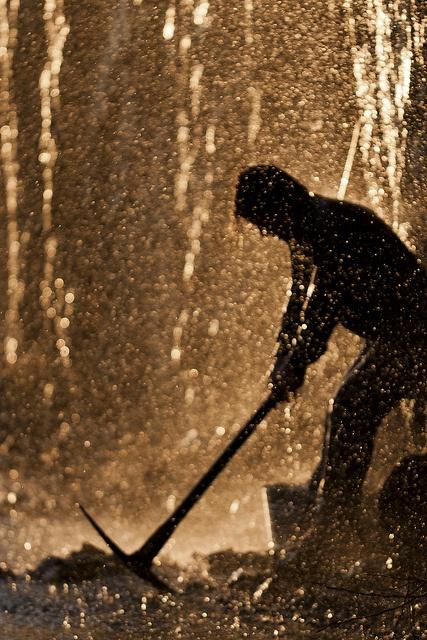 Mining for gold by Bob Martin, Alaska, via Flickr
