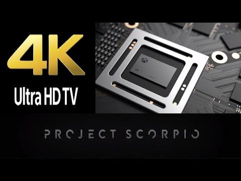 Xbox Project Scorpio Hype - Get 4K TV First