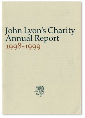 Richard Hollis Design Works | Non-commercial Clients  » John Lyon's Charity