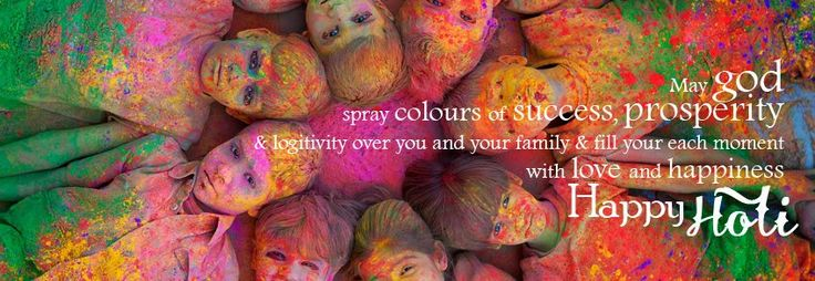 Holi timeline covers and crazy holi colorful covers