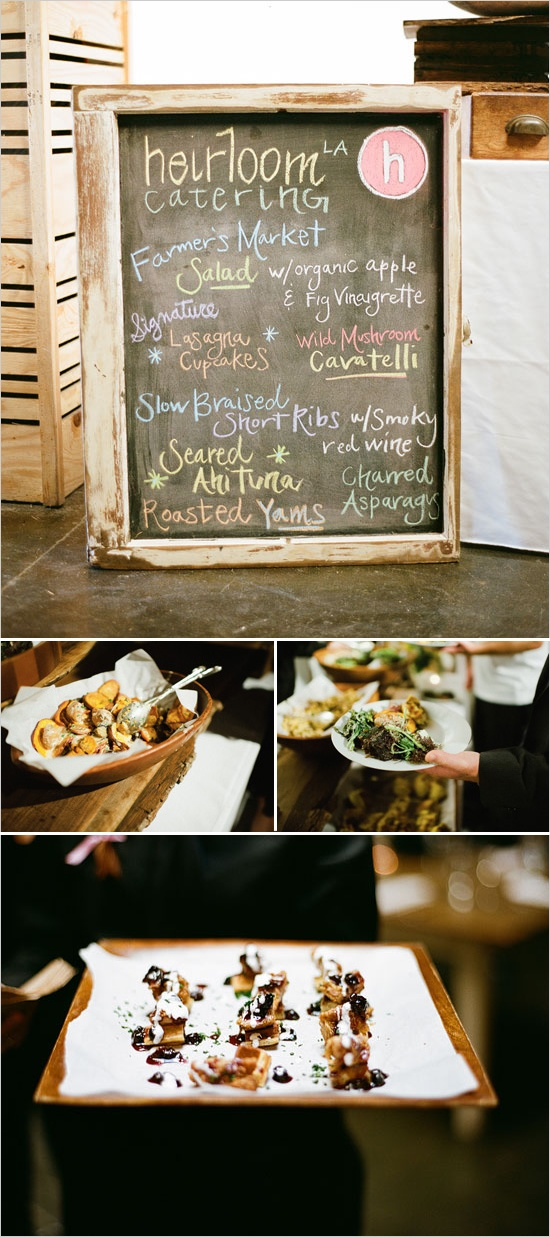 wedding reception dinner ideas on budget%0A Downtown Los Angeles Rooftop Wedding